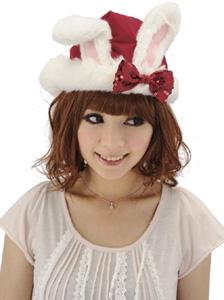 うさちゃんサンタ帽子
